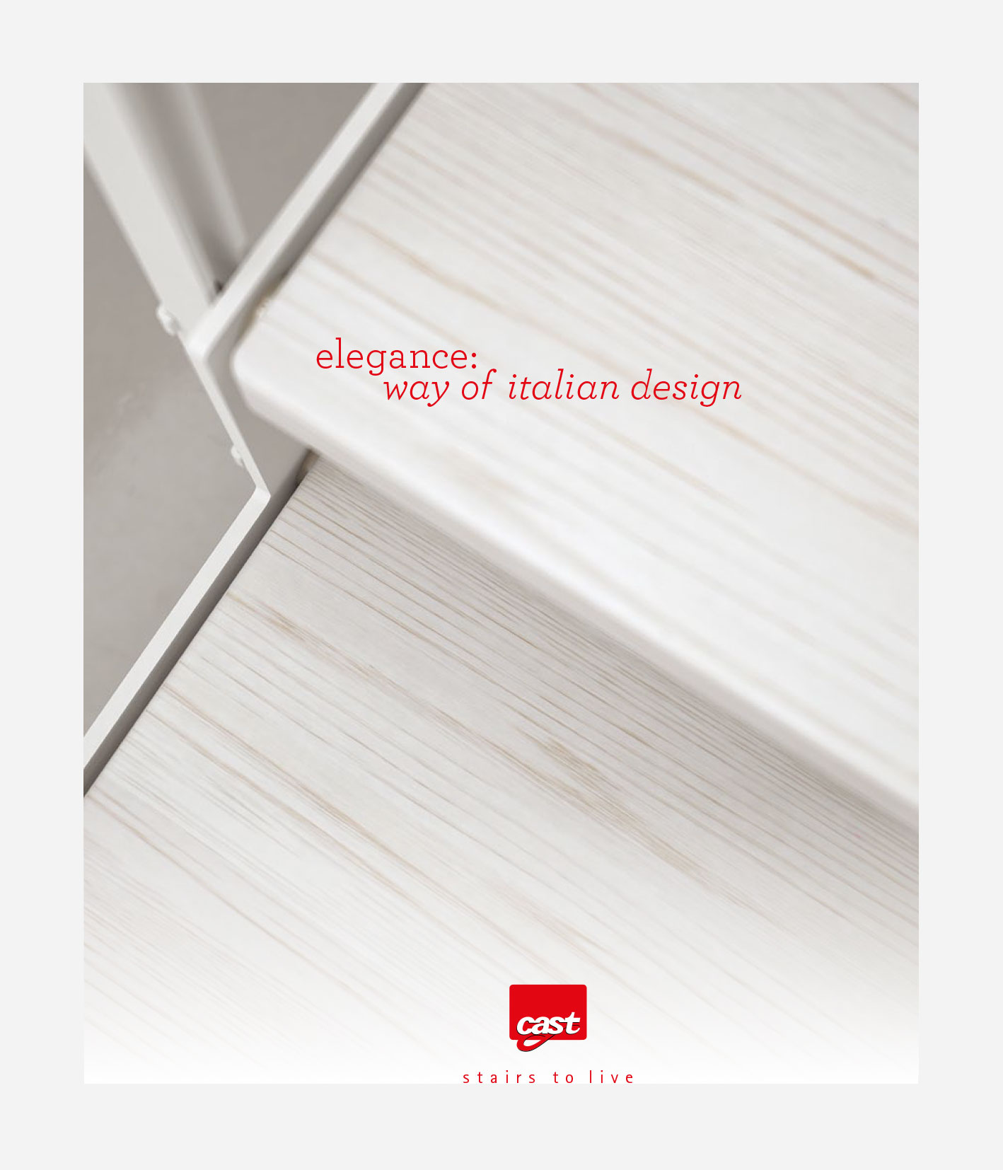 External staircase - Link Iron Outdoor - Elegance Collection by Cast