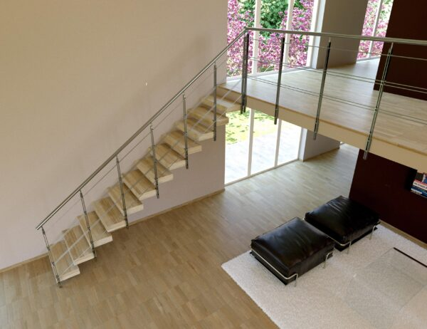 Indoor stairs design Cast Stairs - Swing Infinity