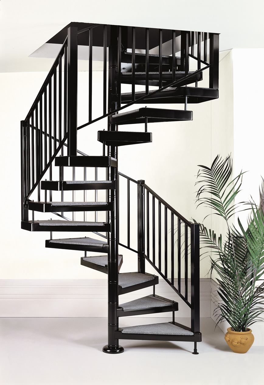 Scale A Chiocciola Moderne spiral staircase standards - c3 - elegance collection by